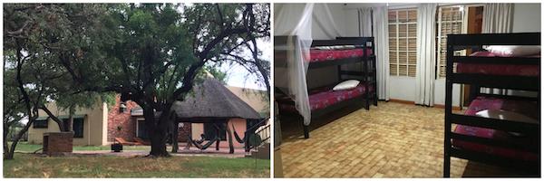 hébergement safari Afrique du Sud