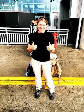 Stéphanie au Costa Rica avec Mahalo